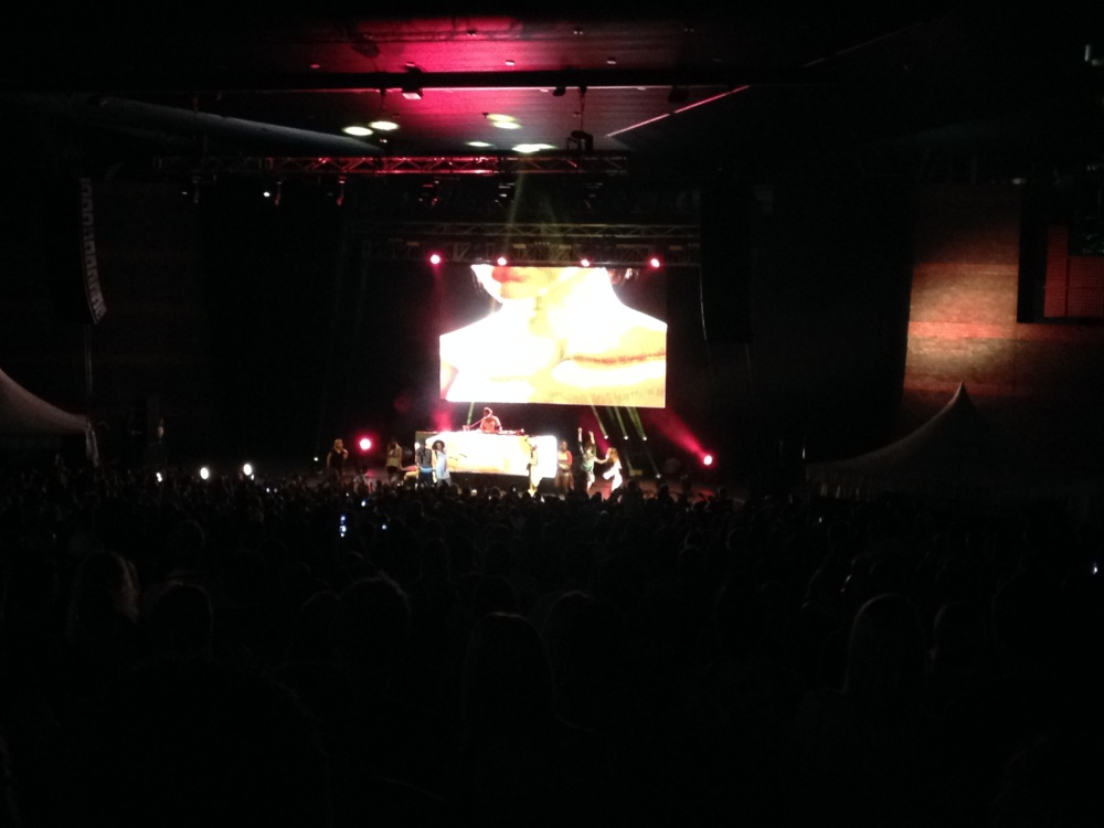 Live review: Pharrell Williams + Baauer + Nina Las Vegas – Brisbane Riverstage – 12/3/14
