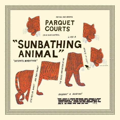parquet courts sunbathing animal