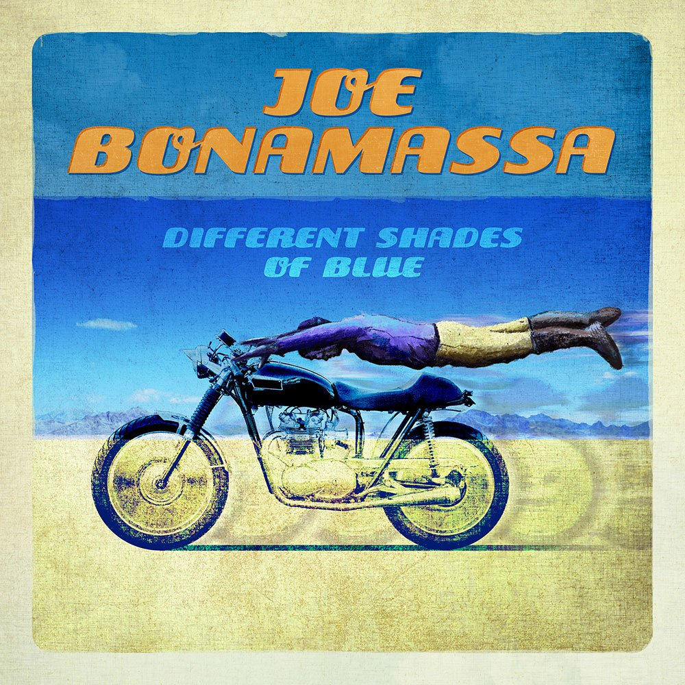 Record review: Joe Bonamassa - Different Shades of Blue (2014, LP)